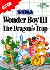 Jaquette Wonder Boy III : The Dragon's Trap