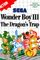 Jaquette Wonder Boy III: The Dragon's Trap
