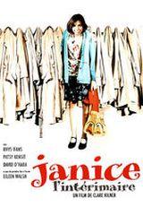 Affiche Janice l'intérimaire