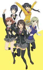 Affiche Schoolgirl Strikers: Animation Channel