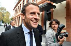 Affiche Emmanuel Macron, la stratégie du météore