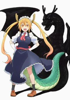 Affiche Miss Kobayashi's Dragon Maid