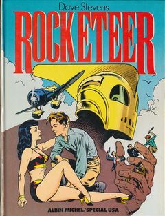 Couverture Rocketeer, tome 1