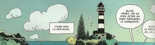 """Cover """"En Bretagne, il pleut que sur les cons"""": la Bretagne en BD"""