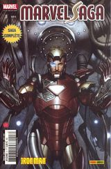 Couverture Iron Man - De mains de fer - Marvel Saga (tome 3)