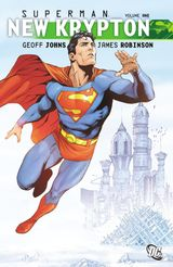 Couverture SuperMan New Krypton Volume One