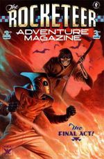 Couverture Death Stalks the Midway! - The Rocketeer Adventure Magazine, tome 3
