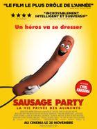 Affiche Sausage Party : La vie privée des aliments