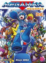 Couverture Megaman Megamix 2
