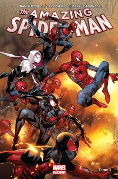 Couverture Spider-Verse - Amazing Spider-Man (2014), tome 3