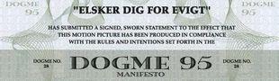 Cover Dogme95, mouvement cinématographique danois