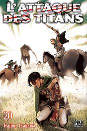 Couverture L'Attaque des Titans, tome 20