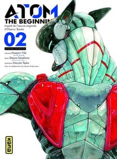 Couverture Atom : The Beginning, tome 2