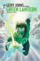 Couverture Geoff Johns présente Green Lantern - L'Intégrale, tome 1
