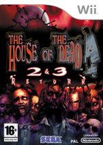 Jaquette The House of the Dead 2 & 3 Return