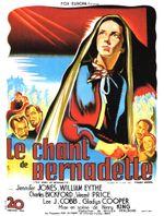 Affiche Le Chant de Bernadette