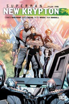 Couverture Superman: New Krypton Vol. 4