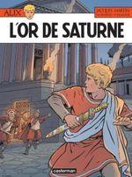 Couverture L'Or de Saturne - Alix, tome 35