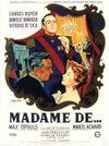 Affiche Madame de...