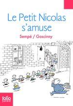 Couverture Le Petit Nicolas s'amuse