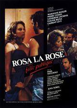 Affiche Rosa la rose