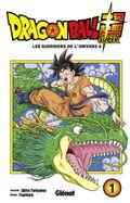 Couverture Dragon Ball Super, tome 1