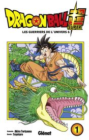 Couverture Dragon Ball Super, tome 1