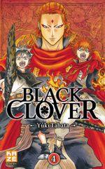 Couverture Black Clover, tome 4