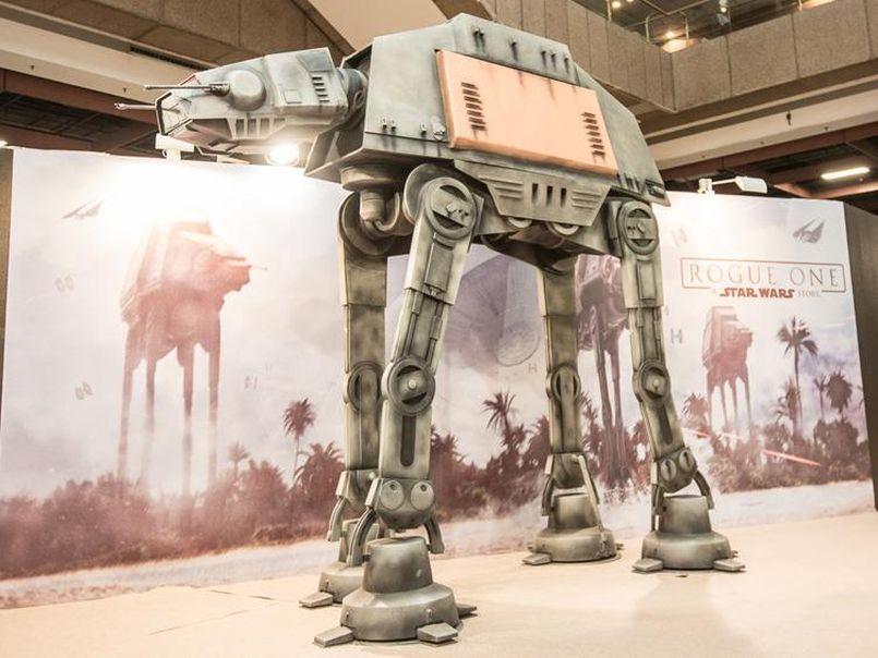 Illustration Star Wars Rogue One : Une réplique impressionnante d'un marcheur impérial en précommande