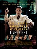 Affiche Live by Night