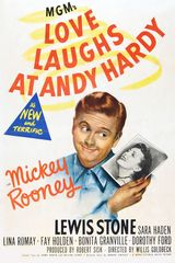 Affiche Love laughs at andy Hardy