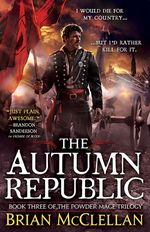 Couverture The Autumn Republic