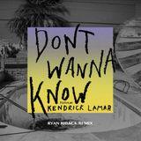 Pochette Don't Wanna Know (Ryan Riback remix)