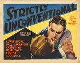 Affiche Strictly Unconventional