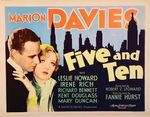 Affiche Five and Ten