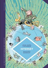 Couverture La petite Bédéthèque des Savoirs - Internet