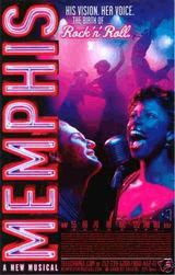 Affiche Memphis the musical