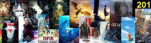 Cover 2016 l'année des morts, de l'Animation, des Super-Héros, des pétards mouillés, des petites surprises, des milliards et de Disney.