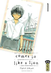 Couverture March Comes in Like a Lion, tome 1