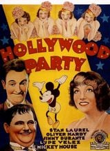 Affiche Hollywood Party