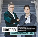 Pochette Piano Concertos nos. 1, 3 & 4