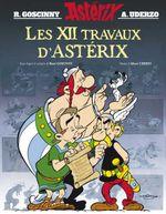 Couverture Les 12 Travaux d'Astérix : L'Album du film