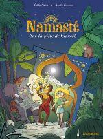 Couverture Sur la piste de Ganesh - Namasté, tome 1
