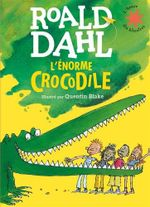 Couverture L'énorme crocodile