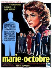 Affiche Marie-Octobre