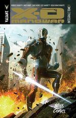 Couverture X-O Manowar, Intégrale tome 1