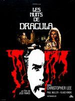 Affiche Les Nuits de Dracula