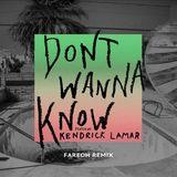 Pochette Don't Wanna Know (Fareoh remix)