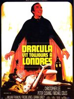Affiche Dracula vit toujours à Londres