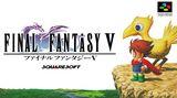 Jaquette Final Fantasy V